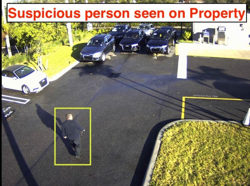 Car Dealership Video Surveillance